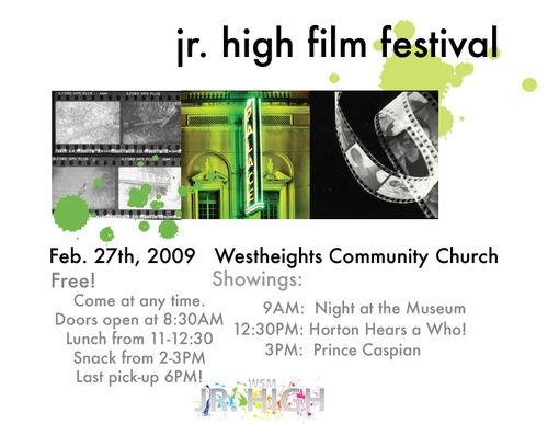 Jr High Film Fest_Poster