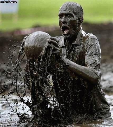Interesting pictures - mud ball