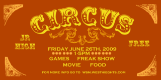 Circus2009-Flyer